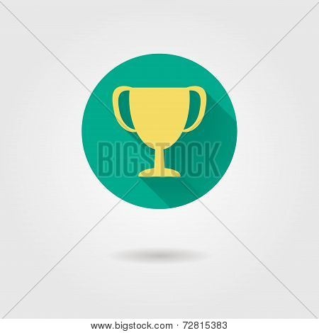 Prize Cup Flat Icon