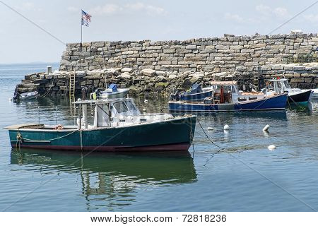Lobster Boats in Lanes Cove