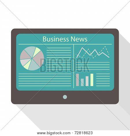 Tablet Display Business News