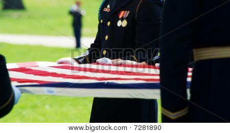 Final Honor Flag and Taps