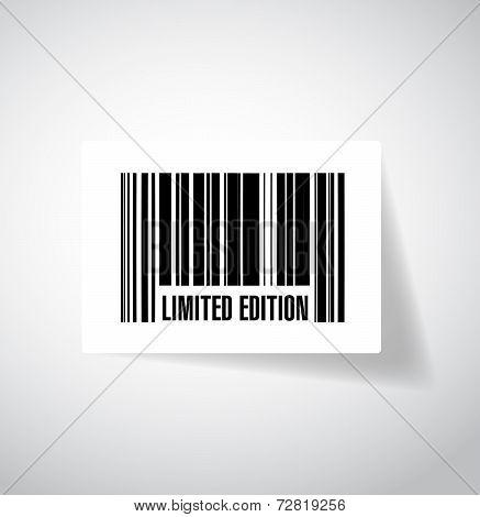 Limited Edition Bar Code Illustration Design