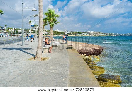 The Promenade Of Pafos