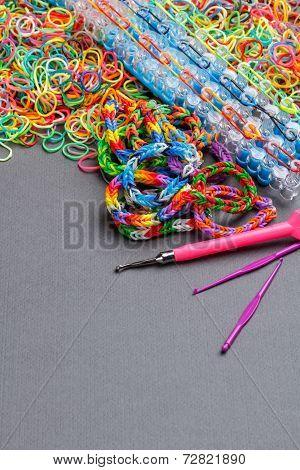 Elastic Loom Bands