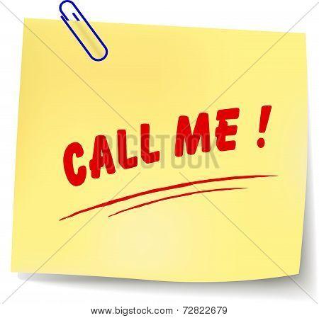Call Me Message