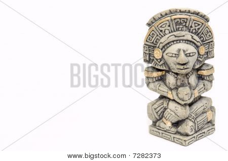 Mayan Statue1