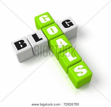 Blog Goals Green