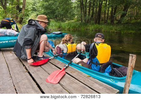 Expedition to kayaking