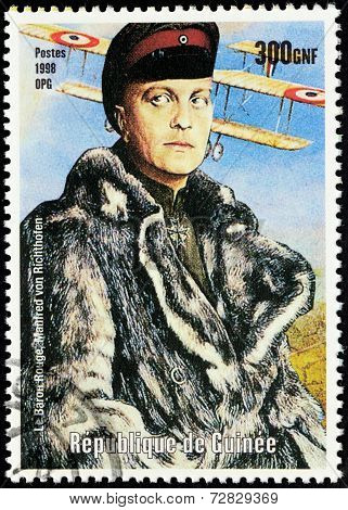 Red Baron Stamp