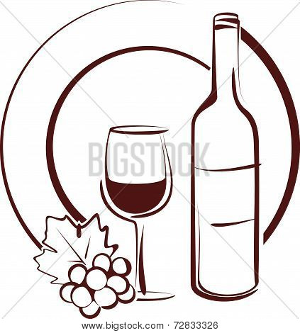 wine. still life