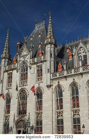 The Provinciaal Hof In Bruges