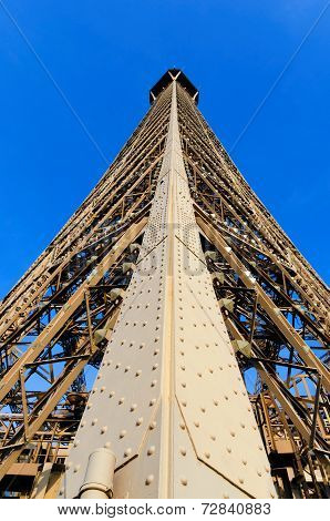 Eiffel Tower Structure Detail