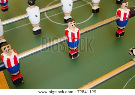 Table Of Foosball