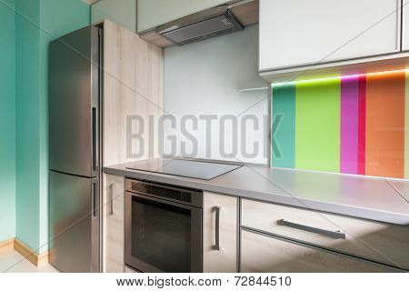 Colourfull Modern Kitchen