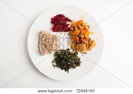 Macrobiotic Plate