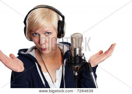 Baffled Singer