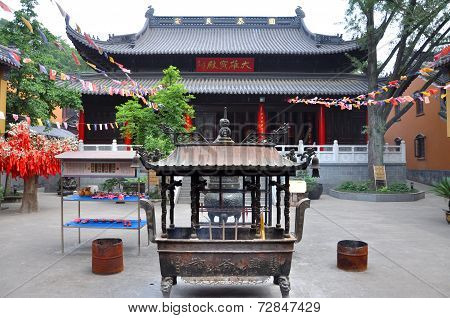 Linggu Temple, Nanjing, China