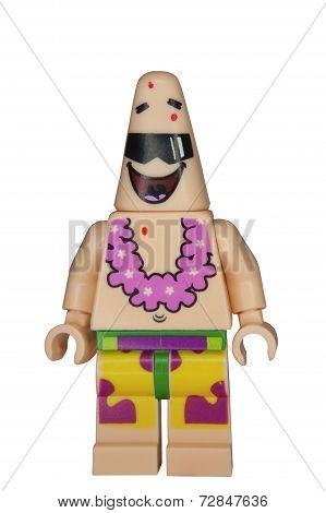 Patrick Spongebob Squarepants Lego Minifigure