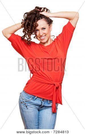 Happy Healthy Woman