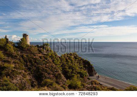 Seaside Town Of Nerja