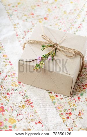 Hand Crafted Present Box