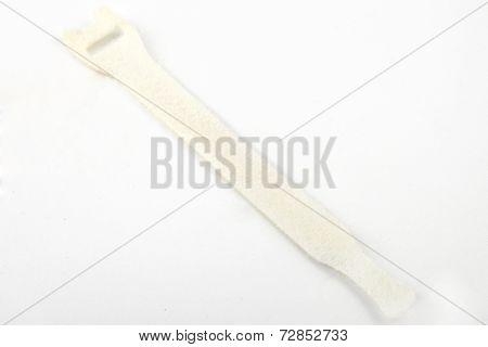 Velcro Cable Tie In White