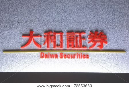 Daiwa Securities Japanese investment bank