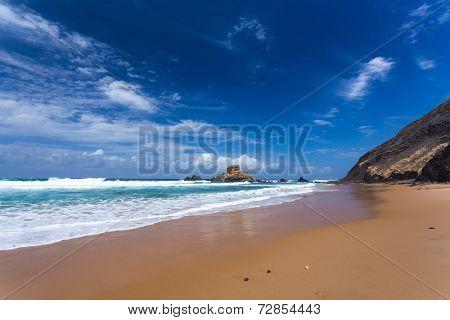 Algarve Castelejo Beach, Portugal