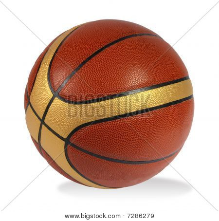 Brown Basket-ball Ball