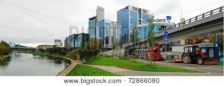 Vilnius City Center New Offices And Houses