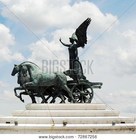 Sculptures Of Vittorio Emmanuele Monument