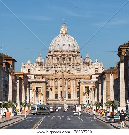 St. Peter's Basilica, Rome - Italy