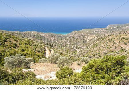 Landscape On Samos