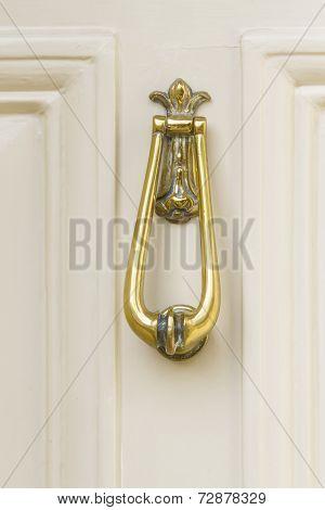 Elegant Brass Door Knocker