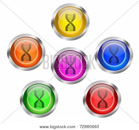 Dna Icon Button