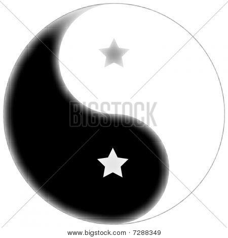 Starred Yin Yang