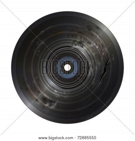 bad condition vinyl record