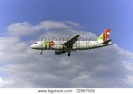 TAP Portugal Aircraft