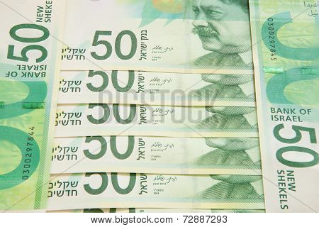 New fifty shekel notes