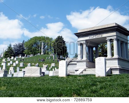 Arlington Cemetery Memorials And Tombstones 2010