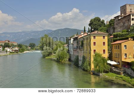 Riverbank Of The River Brenta