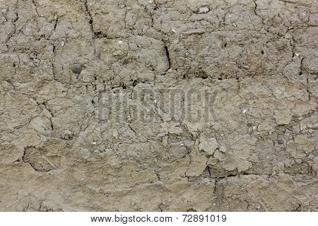 Adobe wall texture