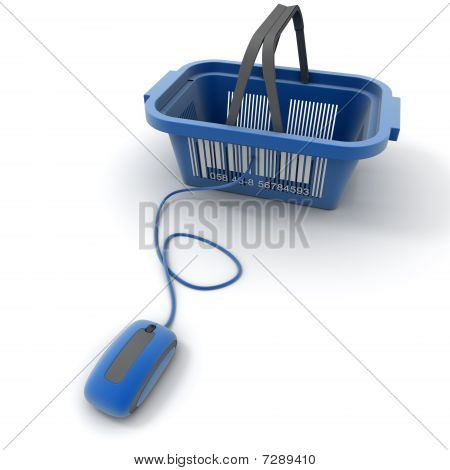 Blue Online Shopping