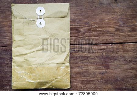 Parcel On Wood
