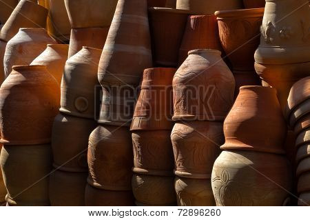 Pottery In Tangier
