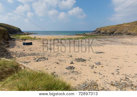 Poldhu beach The Lizard Cornwall England UK