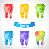 pic of gold tooth  - Rainbow tooth - JPG