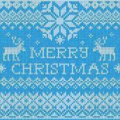 stock photo of scandinavian  - Vector Illustration of Merry Christmas - JPG