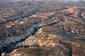 foto of goreme  - Aerial view of Goreme National Park - JPG