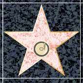 ������, ������: Hollywood Music Walk Of Fame