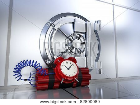 Safety Of Bank Vault